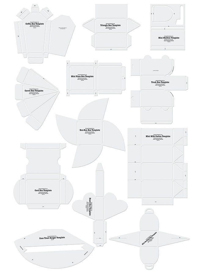 Party Box Templates Templates Printable Free Box Template Template Printable