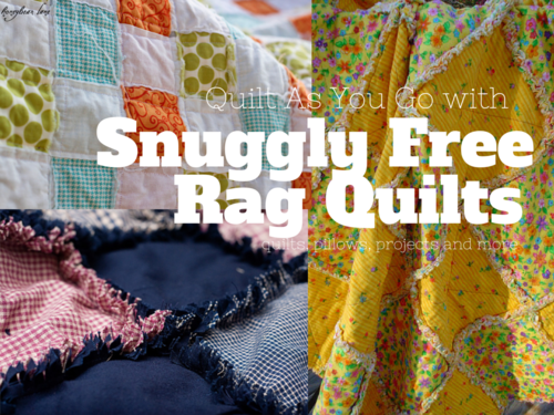 35 Snuggly Free Rag Quilt Patterns Rag Quilt Free And Patterns