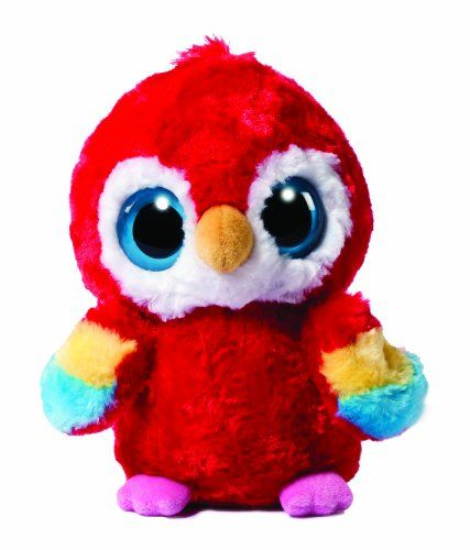 d96ee9e1364 Forever my favorite Beanie Boo! YooHoo and Friends 5-inch Scarlet Macaw   Amazon.co.uk  Toys   Games