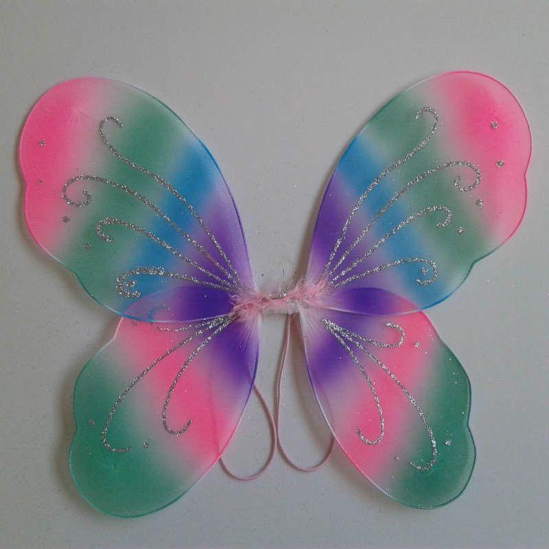 1 PC Princess Fairy Butterfly Wings Halloween Fancy Dress Up