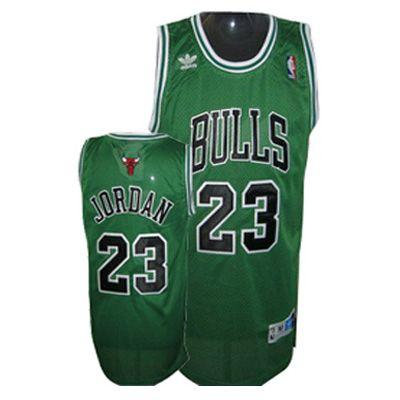 Nba Apparel, Chicago Bulls, Barcelona T Shirt, Green, T Shirts