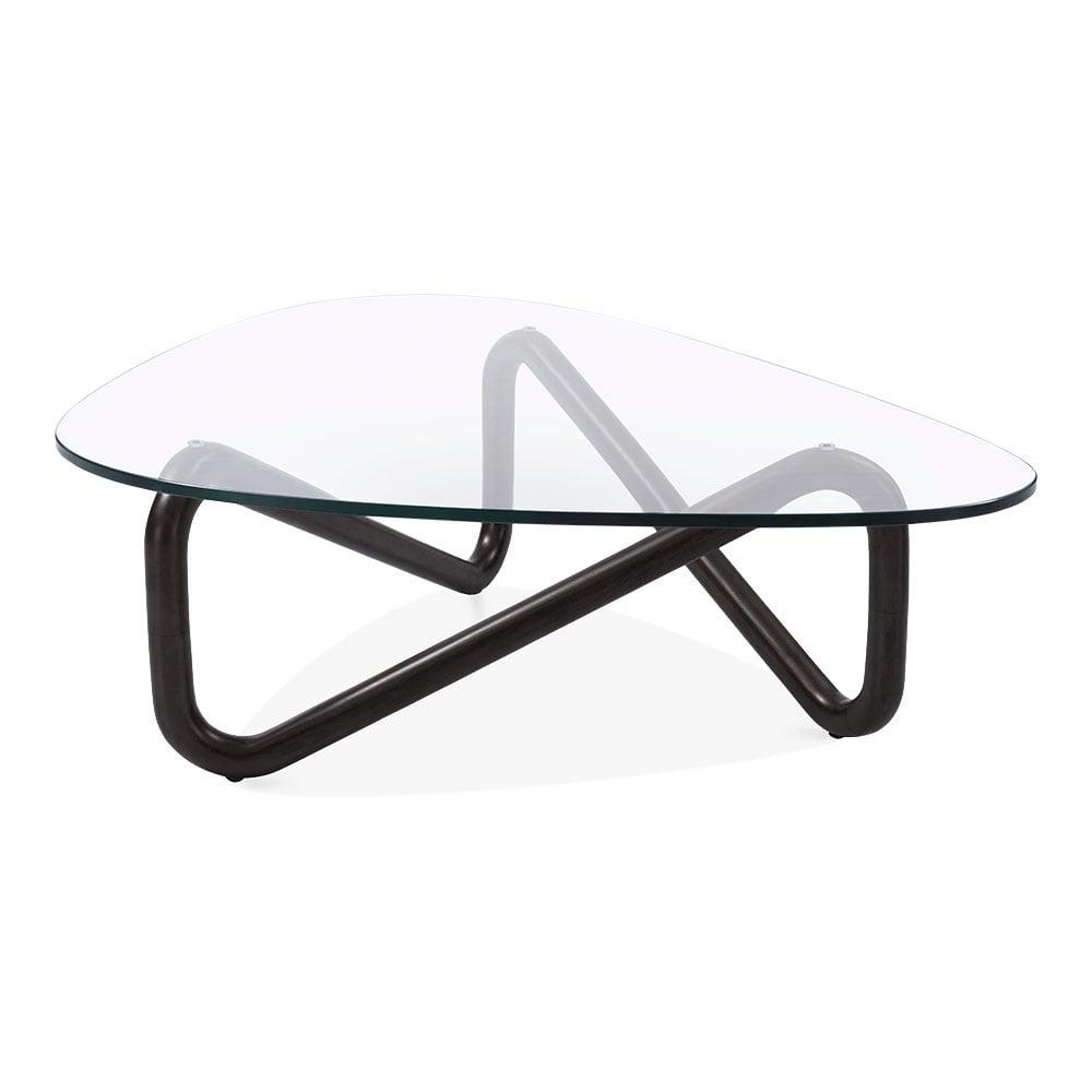 Black Infinity Glass Top Coffee Table Living Room Furniture Coffee Table Solid Coffee Table Glass Top Coffee Table [ 1000 x 1000 Pixel ]