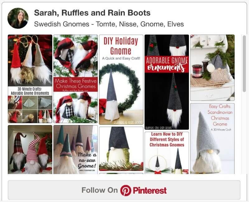 Christmas Gnomes Pinterest.Diy Christmas Gnomes Tutorials Patterns And More