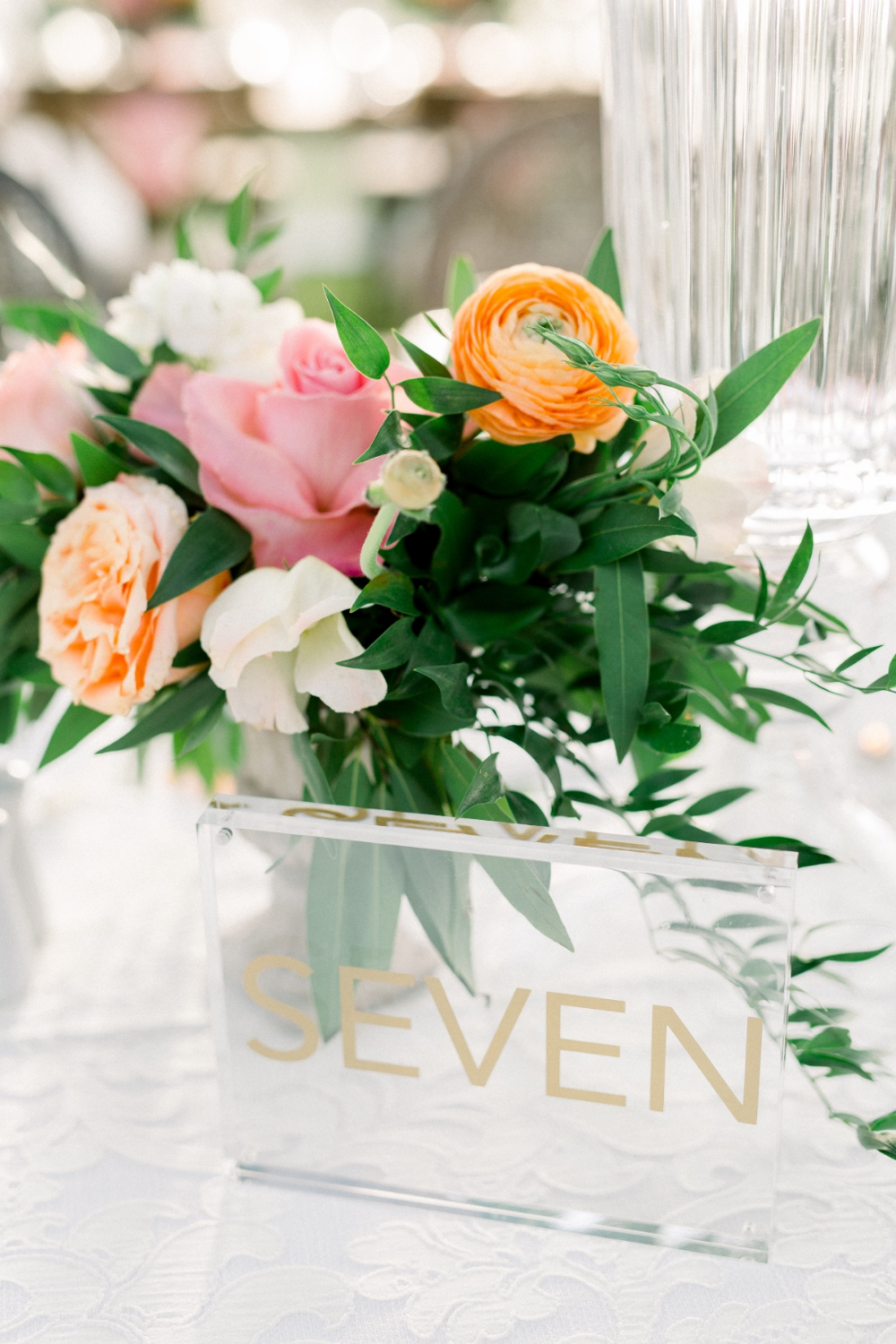 Dreaming Of An Elegant Blush Garden Wedding Peach blush