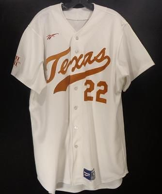 016552dcb Vintage TEXAS LONGHORNS BASEBALL COLLEGE JERSEY 90 S EXTREMELY RARE PLAYER  ONLY please retweet