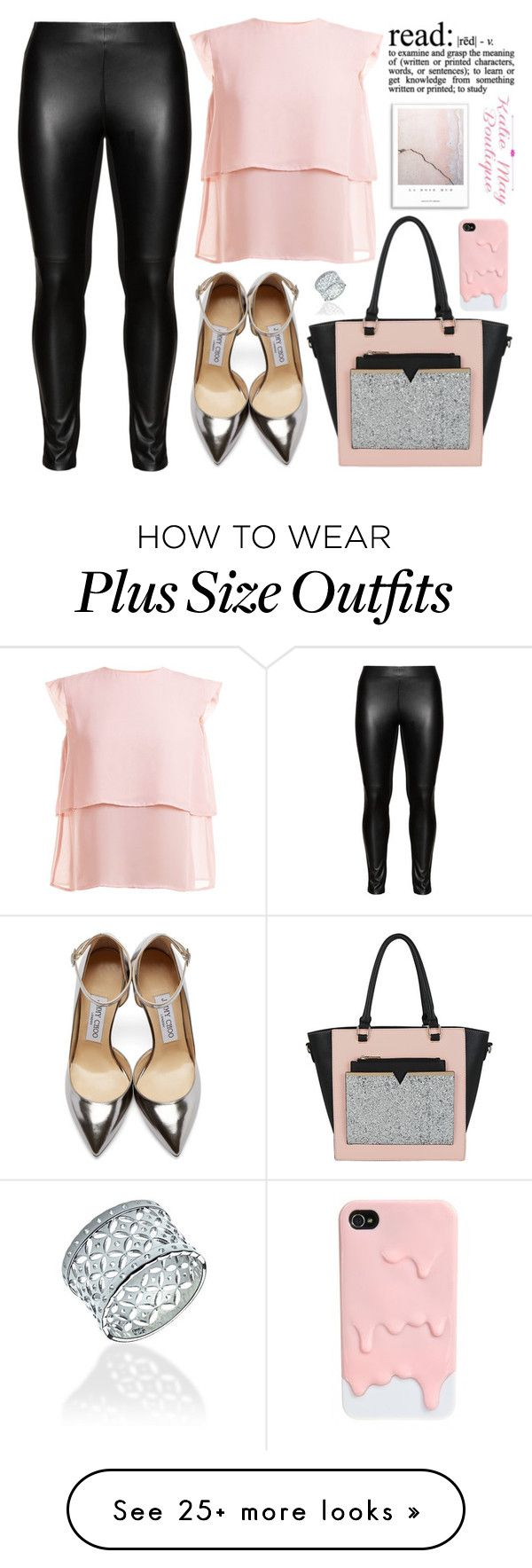 """""""Katie May Boutique #9"""" by edita-m on Polyvore featuring Studio, Livlov, Jimmy Choo and KatieMayBoutique"""