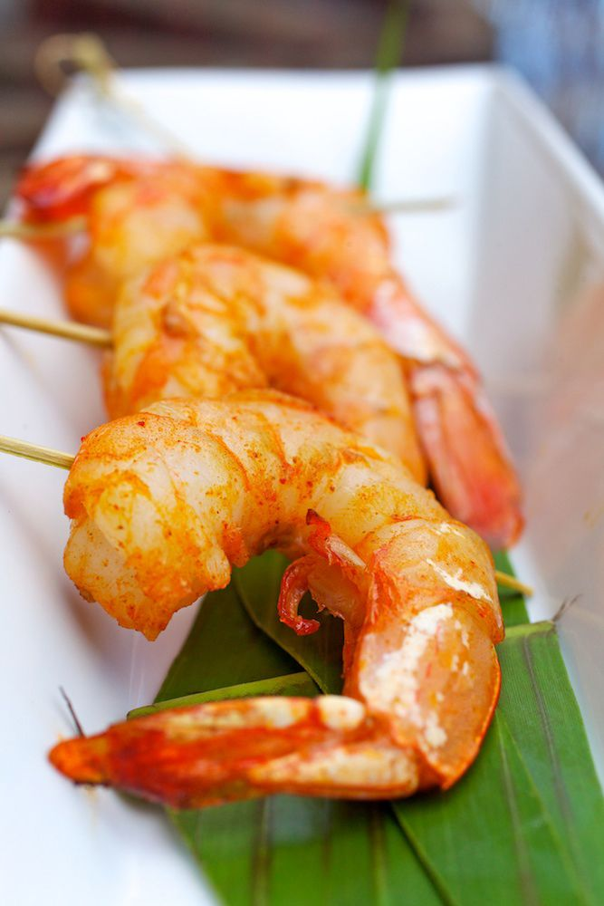 Asian spiced shrimp - Mike Betts catering