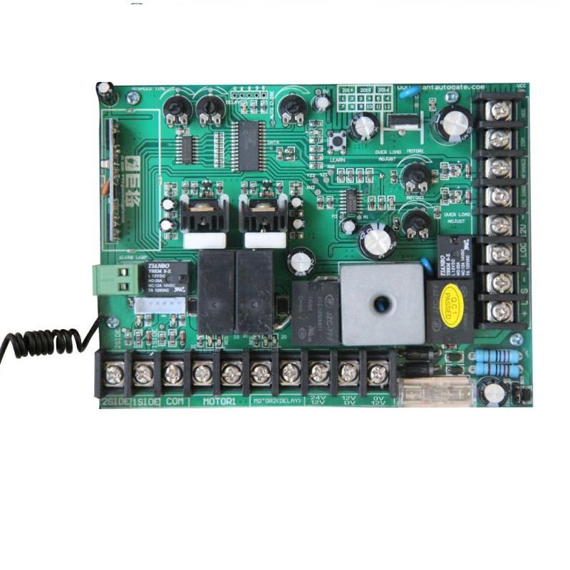 Dc12v 24v Pcb Control Board For Electric Swing Gate Motor Gate Opener Affiliate Swing Gate Opener Electronic Cards Circuit Board