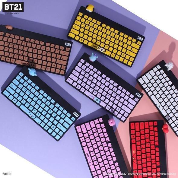 b26140b7 Bt21 x royche wireless keyboard in 2019   Necessities   Bts, Bts ...
