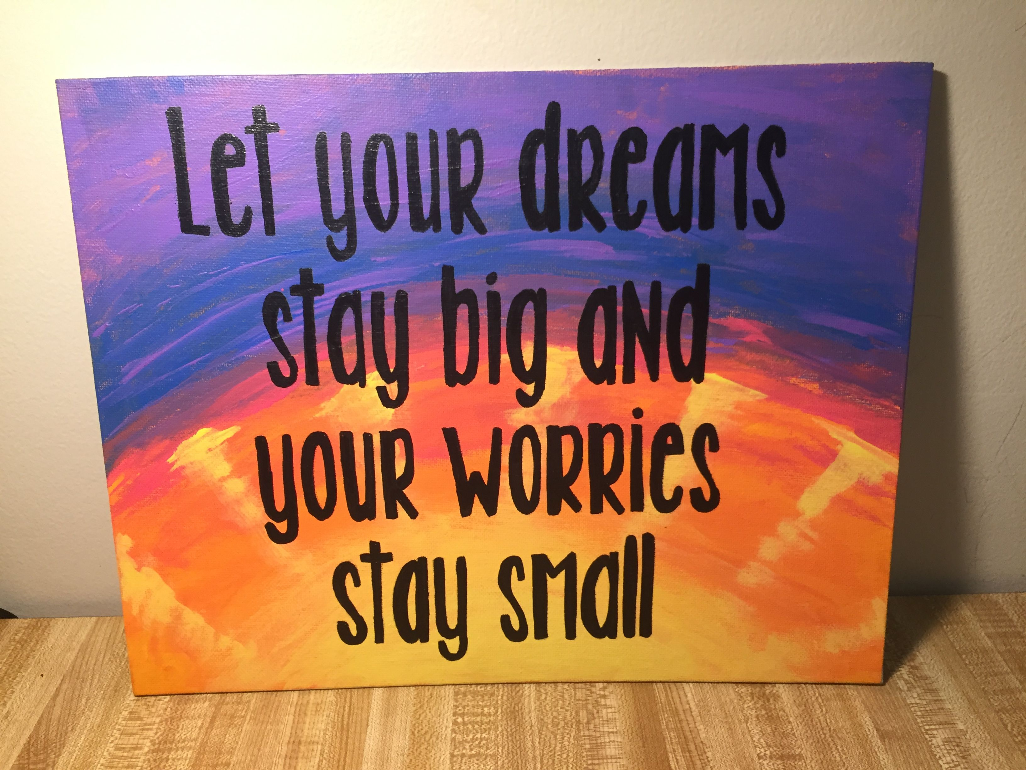 Rascal Flatts Country Music Quote On Canvas Painting Diy