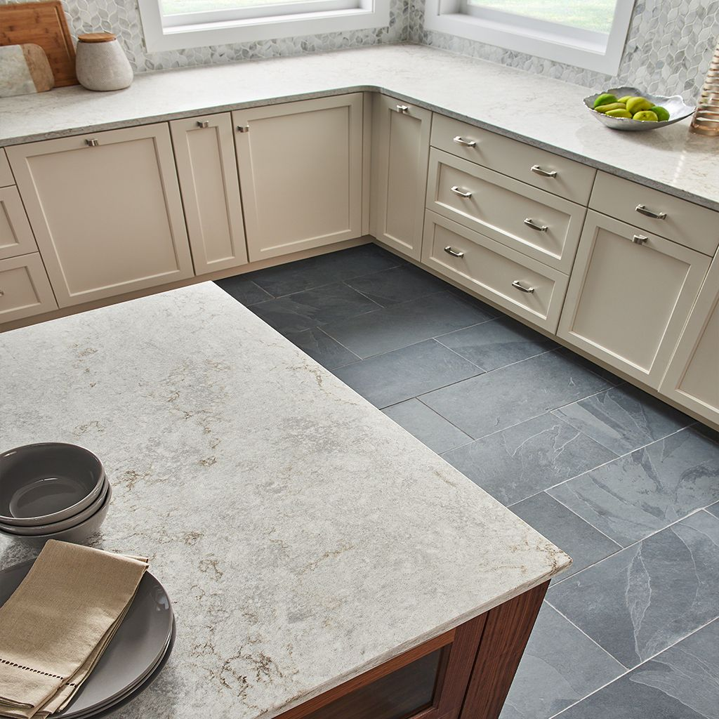 Kitchen Countertops Kinds: MORE INFO + ORDER SAMPLE. MORE INFO + ORDER SAMPLE. TWITTER. Gray Lagoon Quartz