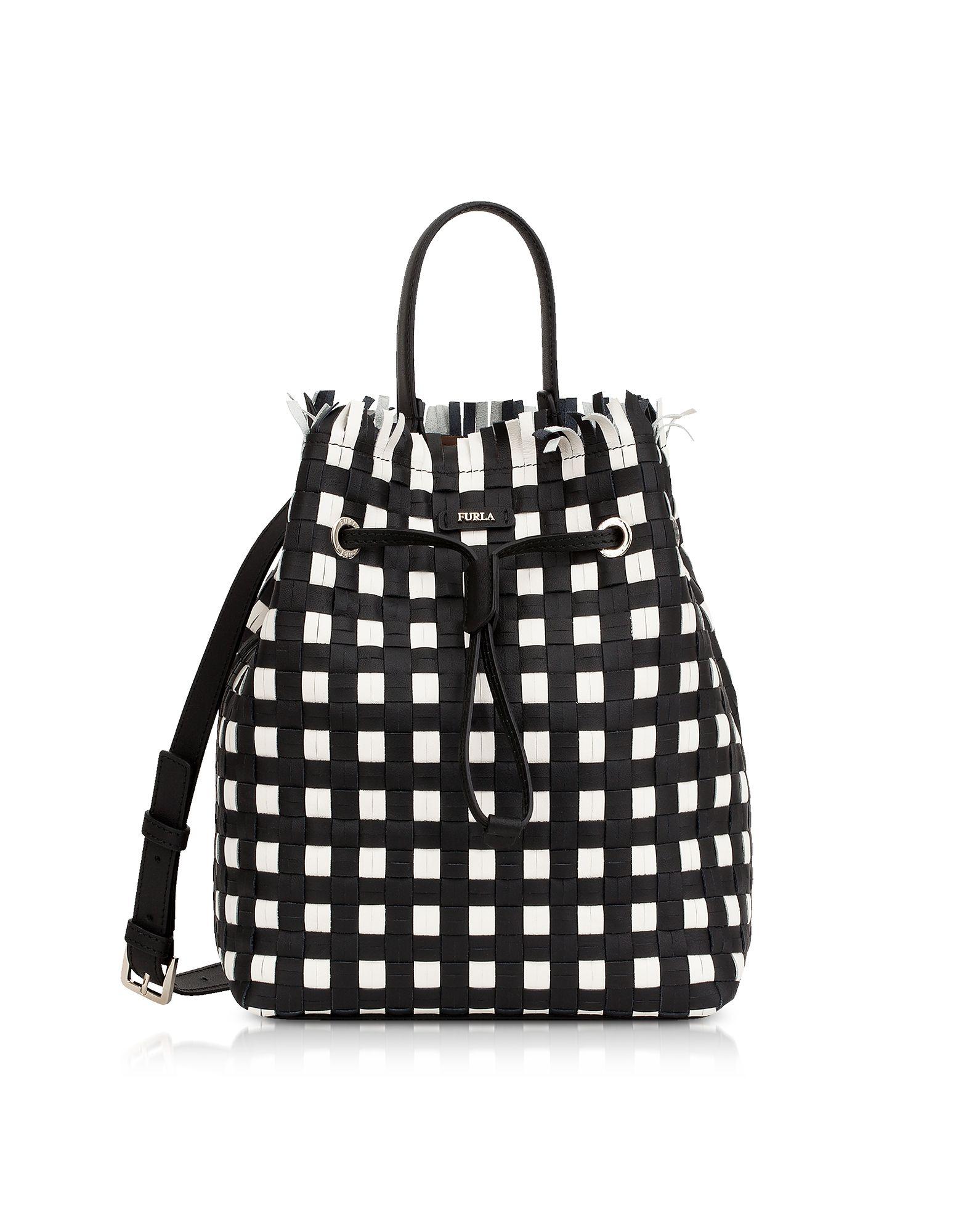 Furla Stacy Casanova Bucket Bag s Onyx Outlet Cost Sale Discount Footlocker Finishline For Sale kxRFUbZ