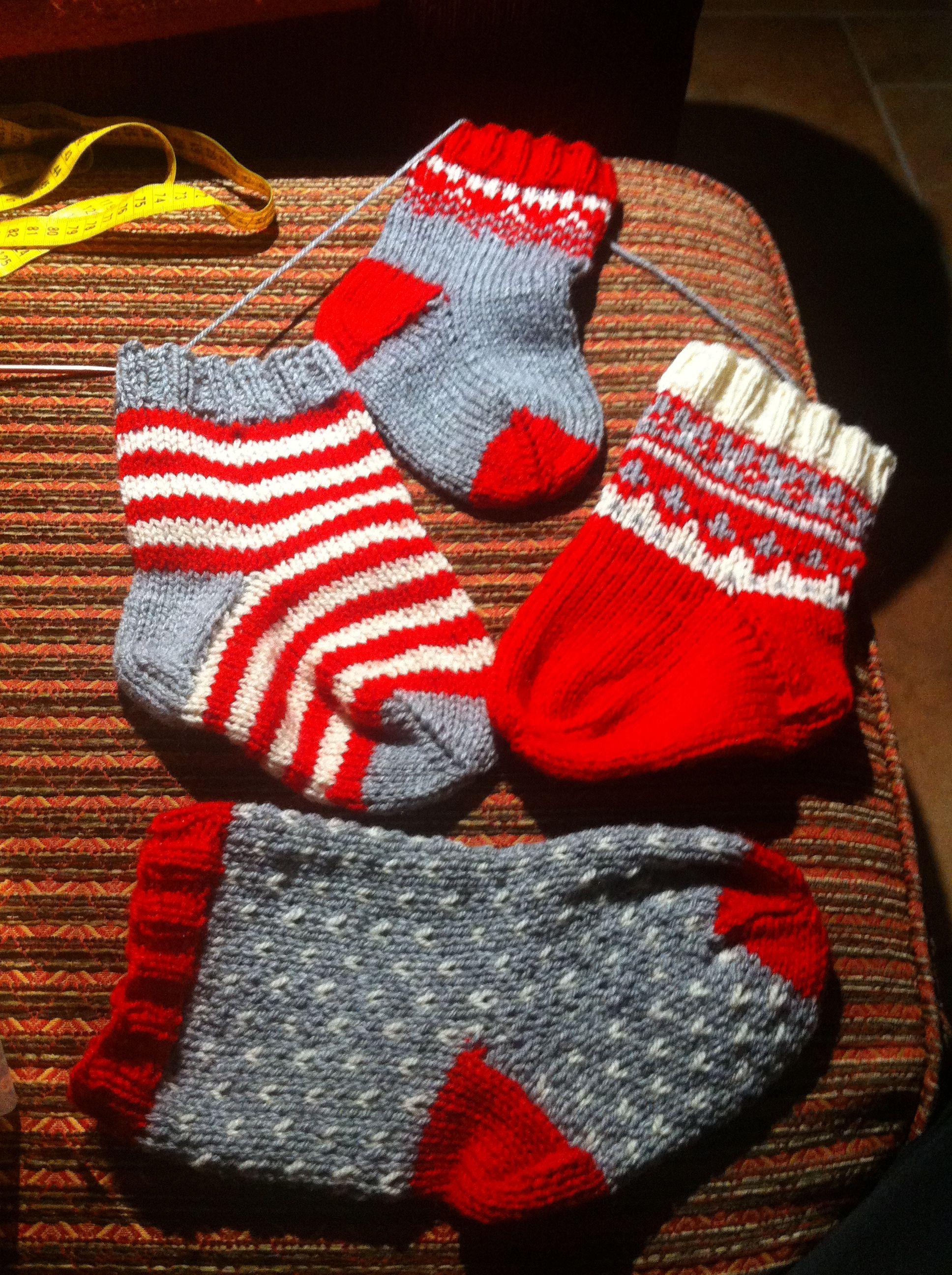 Weihnachtssocken | Wolle, Stricken, Filzen | Pinterest ...