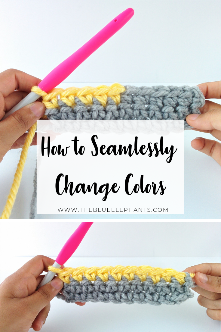 Crochet 101: How to Change Colors #crochetstitches