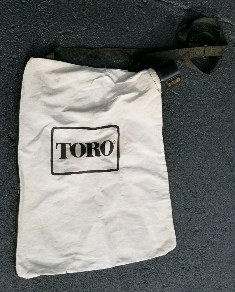Toro Lawn Boy Leaf Blower Vac Vacuum Debris Collection Bag 108 8994 127 7040 Toro Boys Bags Vac