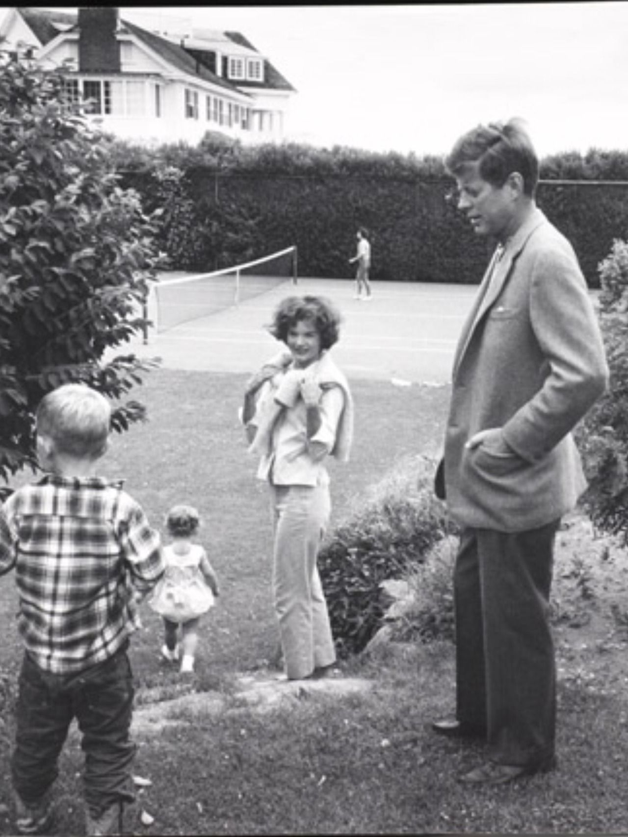 Jackie Kennedy Family: John F.Kennedy And His Family