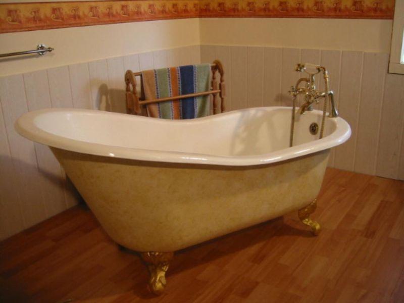 Antike freistehende alte Badewanne. Einmalige tolle
