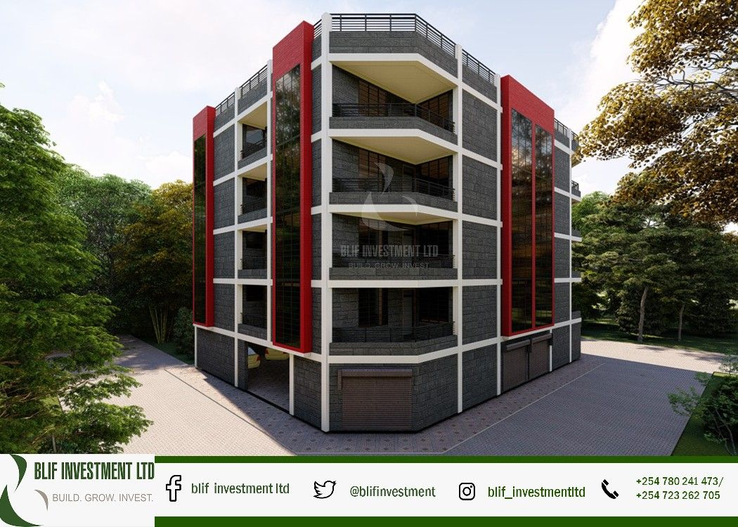 Pin by Blif Investment. on Home plans Kenya Apartment