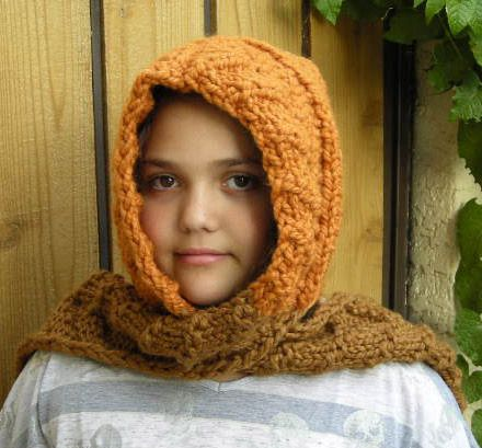 Scoodie (Scarf and Hood) Knitting Pattern | Knitting girls ...