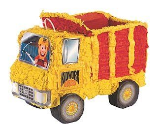 Dump Truck Pinata with Pull String Kit