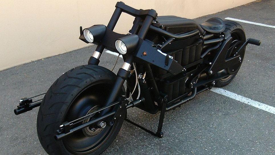 Batman's badass 'Batpod' electric motorcycle for sale on eBay, only