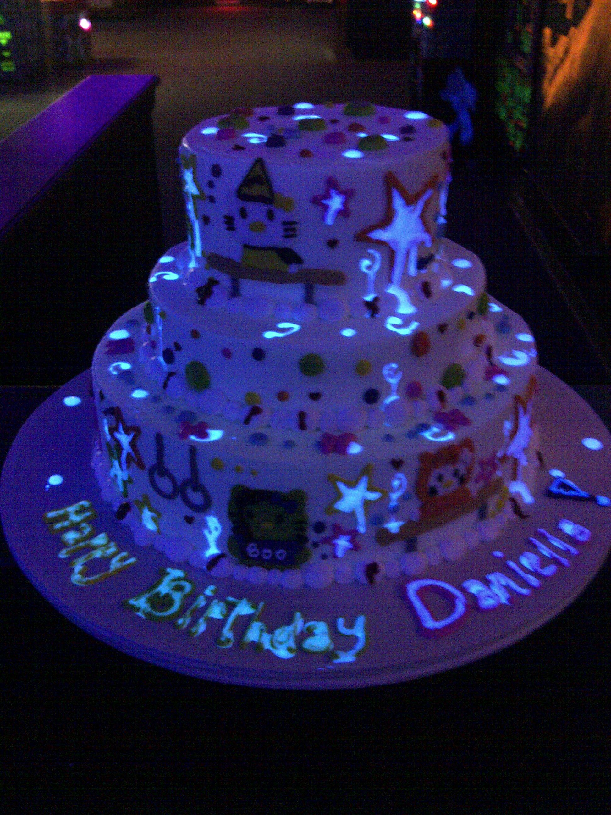 The Makery Is Denvers Source For Glow In The Dark Birthday Cakes