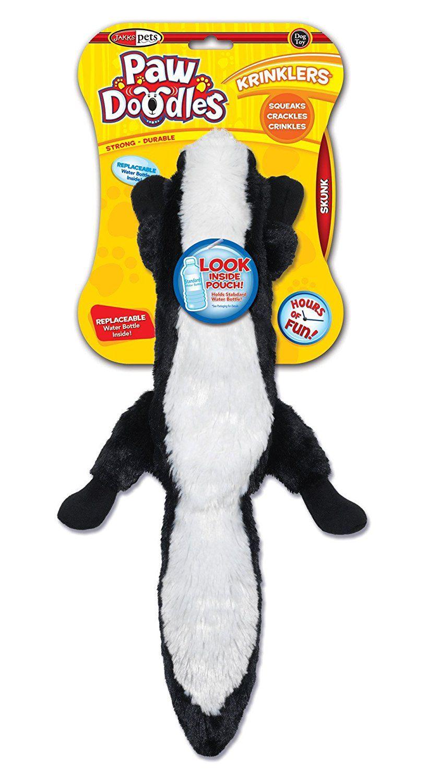 Pawdoodles Krinklers Dog Toy Skunk If You Love This Read
