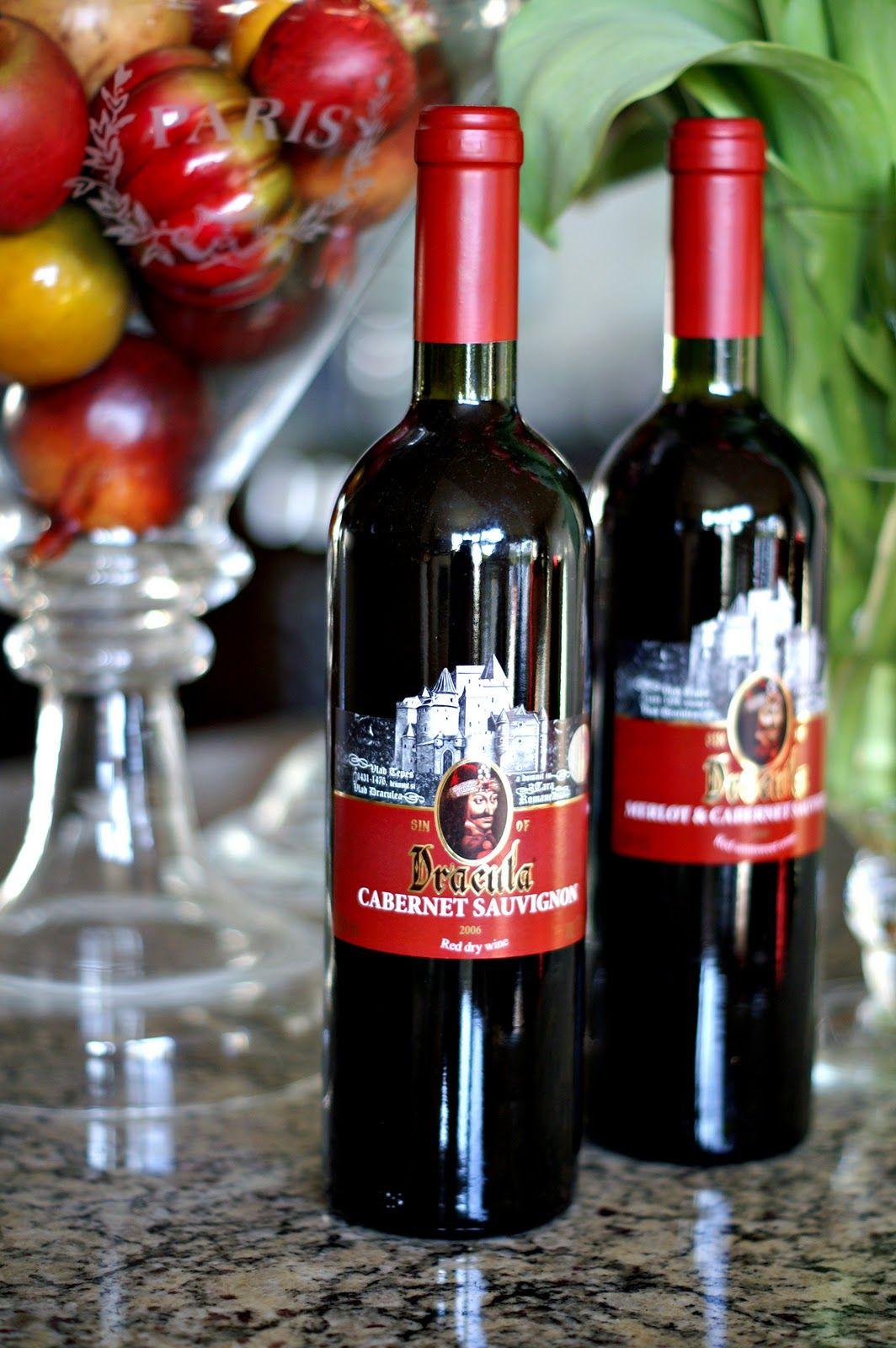 Dracula Wine Wine Vintage Bottles Red Wine