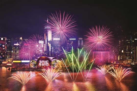 happy new year hong kong