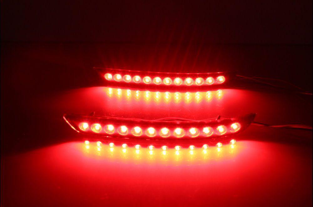 Eosuns Led Rear Bumper Light Rear Fog Lamp Brake Light Driving Light Wireless Control For Toyota Innova 2015 16 Toyota Innova Fog Lamps Car Lights