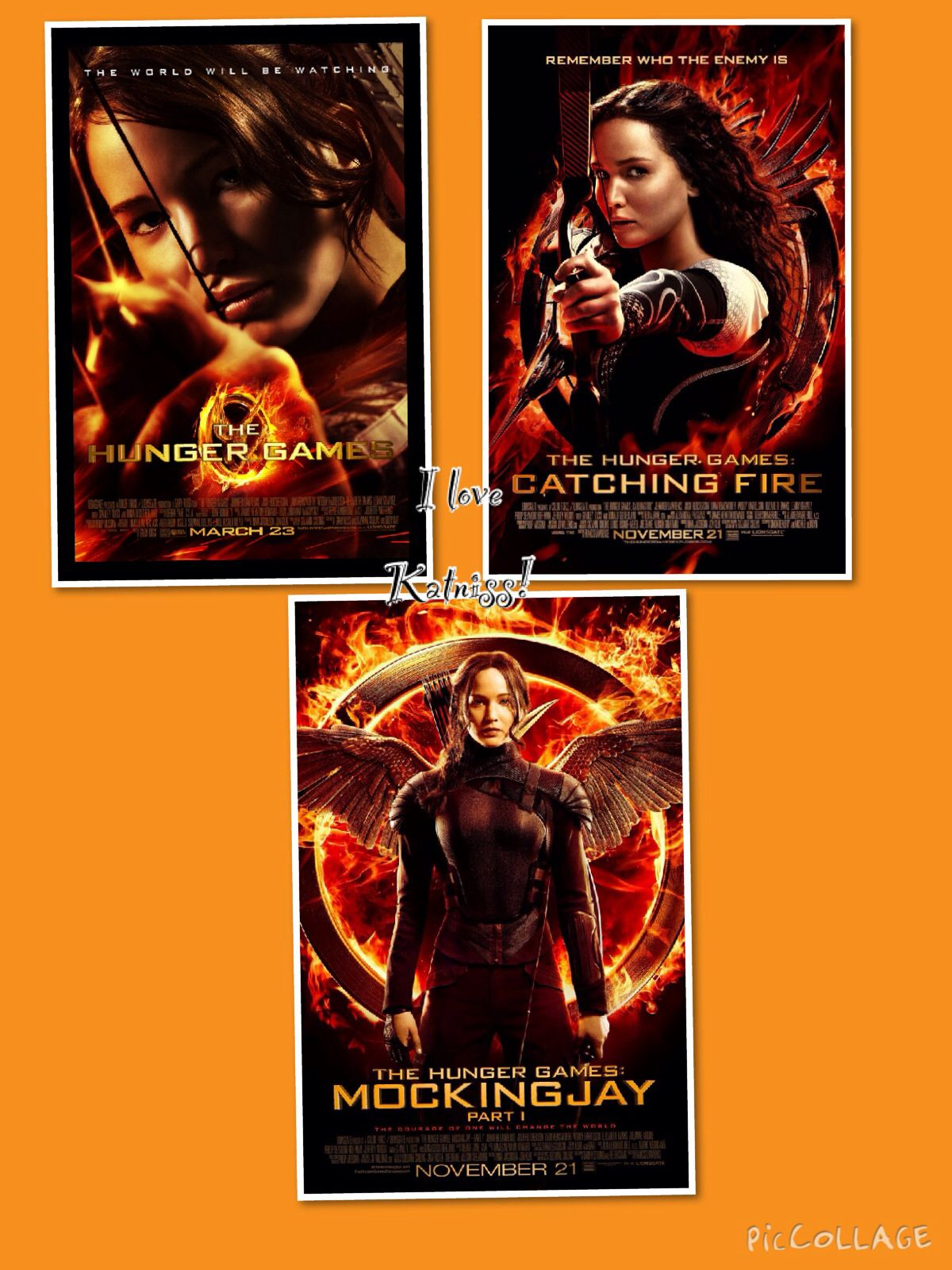 Love her! Hunger games, Female movie characters
