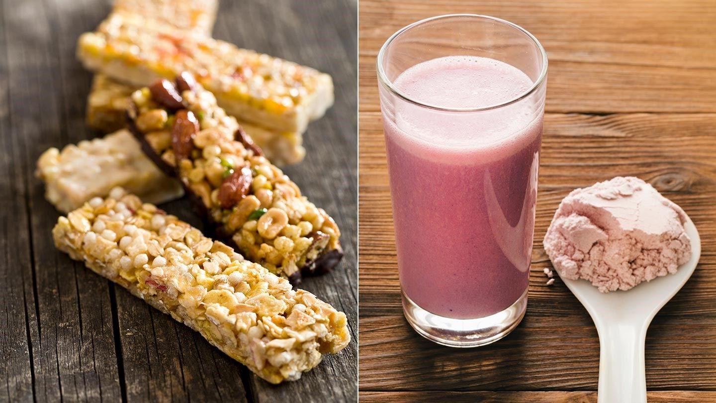 Are Nutrition Bars and Shakes Healthy for People With Diabetes? #diabetesmenu