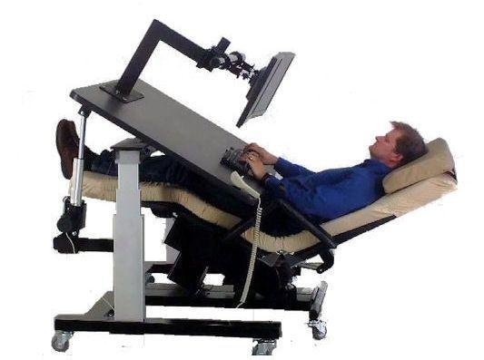 Zero Gravity Workstation 1   ErgoQuest Zero Gravity Chairs And .