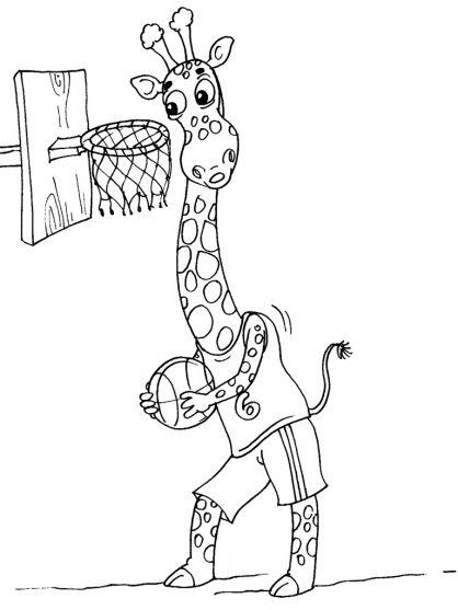 Girafe 17 Coloriage Girafe Coloriage Animaux Girafe