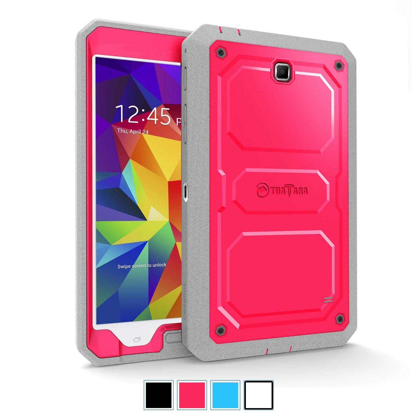 huge discount d8b05 0de8e Amazon.com: Fintie Samsung Galaxy Tab 4 8.0 Case [CaseBot Tuatara ...