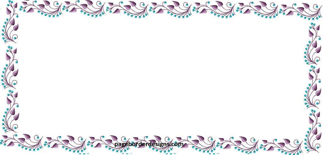 blue and purple leaf border design hd 2016 sadiakomal