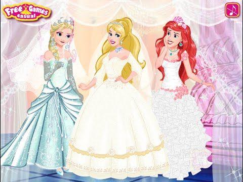 Superb Disney Princess Wedding Festival Disney Princesses Dress up Games