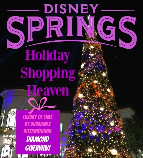 DIAMOND GIVEAWAY from Best Shopping Destination: Disney Springs!
