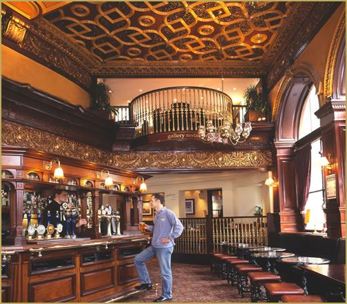 Scottish Pub Bar: Guildford Arms ( Late 19th Century) Wish It Was That Quiet