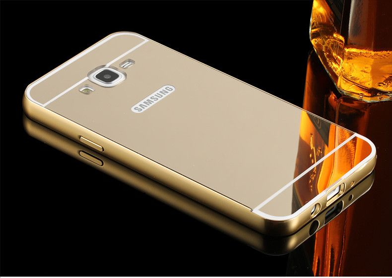 Click To Buy Cover For Samsung Galaxy J2 Prime Grand Prime G532 Case Luxury Rose Gold Plating Mirror Phone Cases For Samsung Samsung Galaxy Samsung Phone