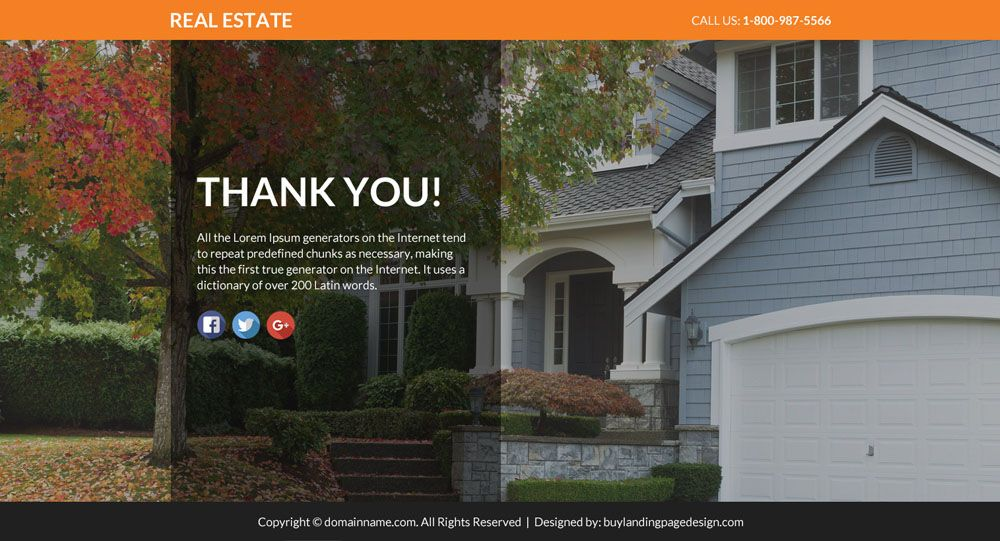 Real Estate Lead Funnels Responsive Lp 20 Real Estate Responsive Landing Page Design Preview Real Estate Leads Landing Page Design Real Estate
