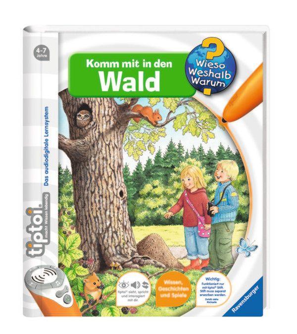 Tiptoi Komm Mit In Den Wald Wieso Weshalb Warum Grosse Marken Shop Tiptoi Komm Mit In Den Wald Tiptoi Kinderbucher Tiptoi Bucher