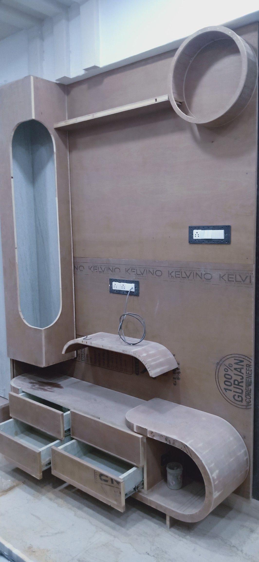 Modern Living Room Lcd Tv Stand Wooden Design Fa18b: Tv Unit Furniture Design, Tv Cupboard