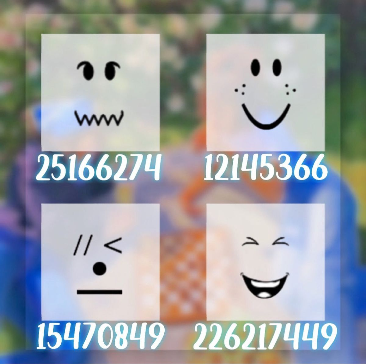 Aesthetic Face's in 2020 Roblox, Roblox pictures, Coding