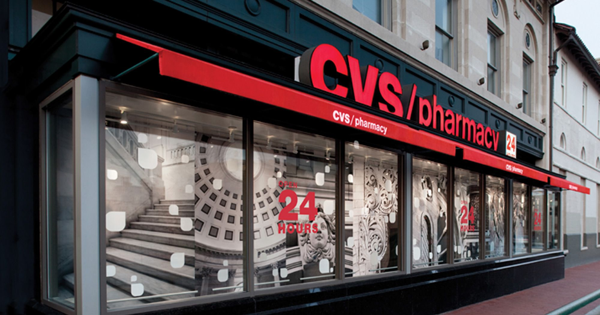 Cvs Window Art - By Chase Design Group