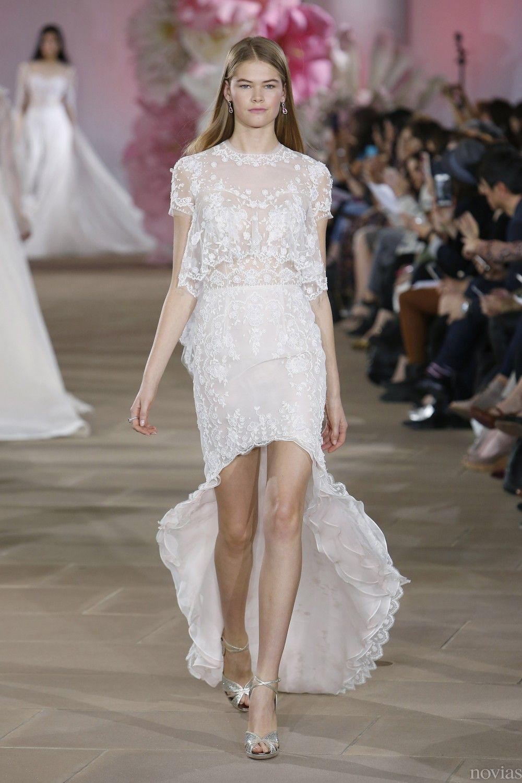 Vestido de novia de Inés Di Santo. Tendencia: vestidos de novia ...