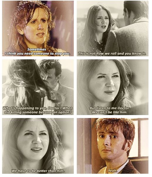 DW - The Doctor needs his companions for more things than just friendship.