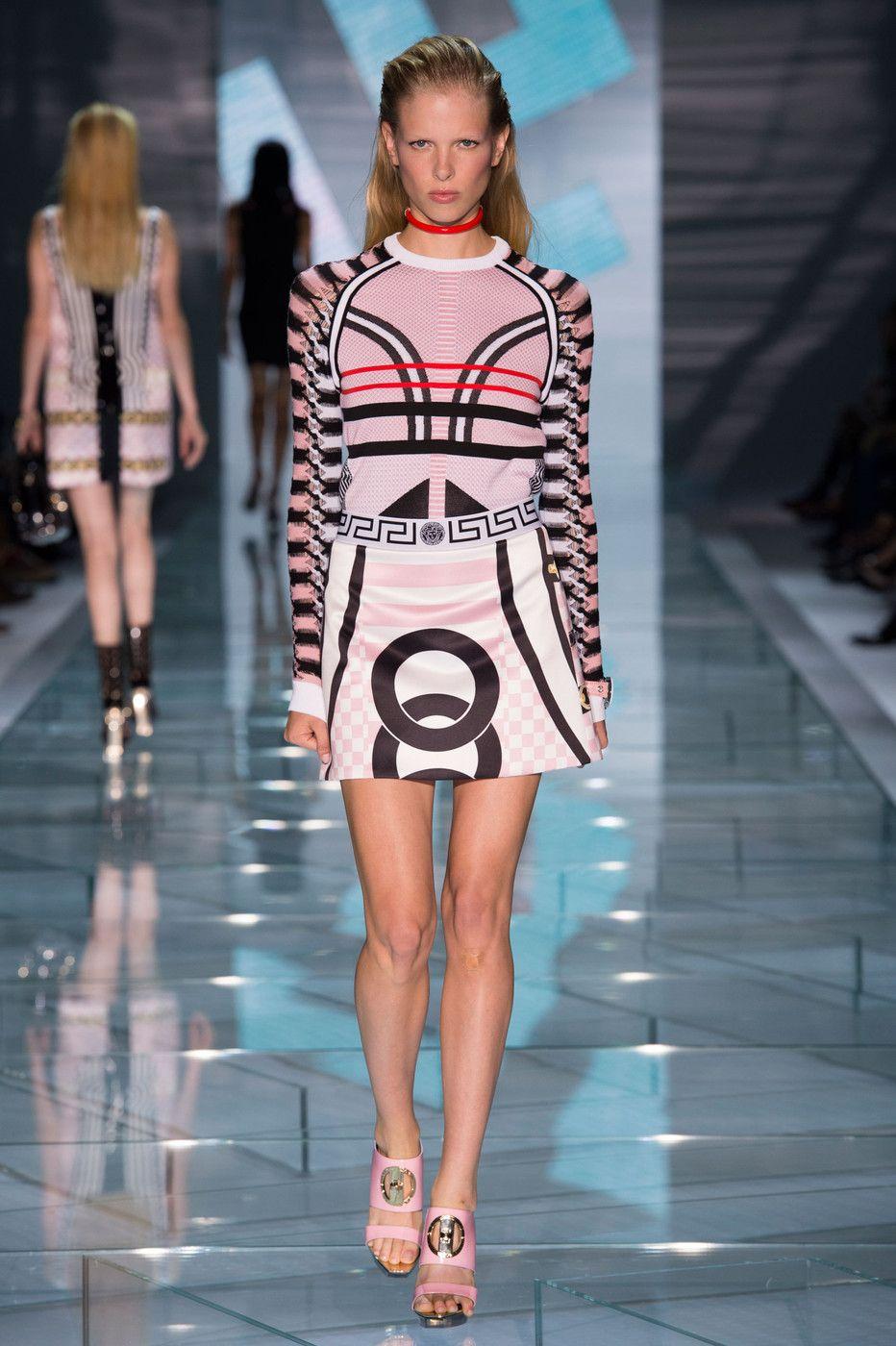 Versace // Milan Fashion Week Spring 2015