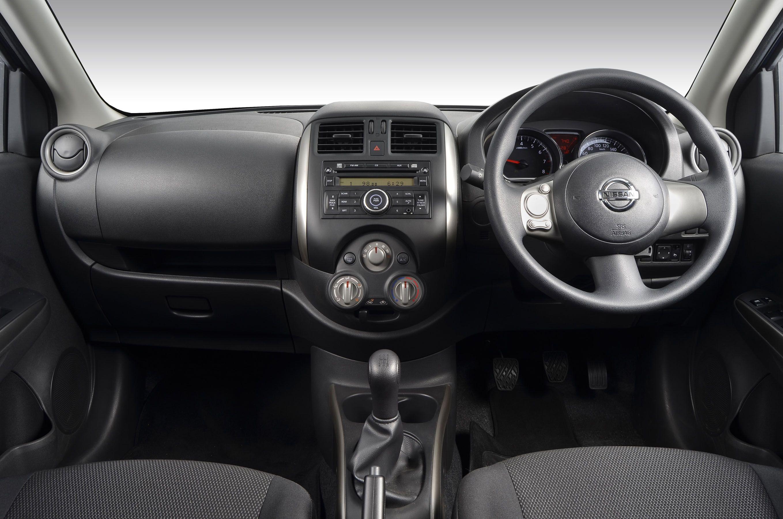 Interior View Of A Nissan Almera Pinterest Nismo Black