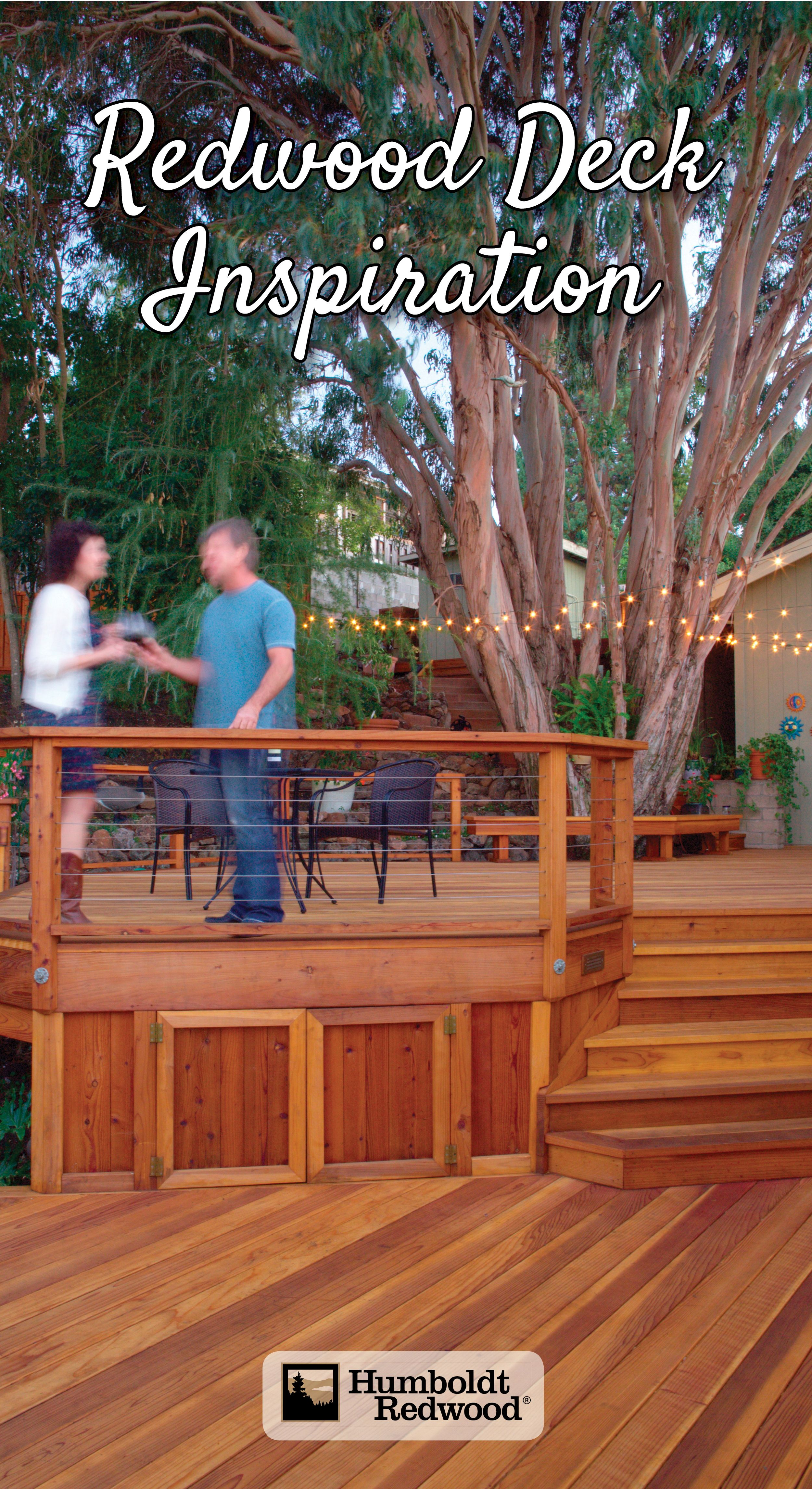 A Redwood Deck Creates Beautiful Outdoor Living Spaces Redwood Decking Deck Shade Beautiful Outdoor Living Spaces
